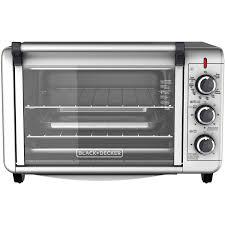 BLACK+DECKER 6-Slice Convection Countertop Toaster Oven, Silver ...