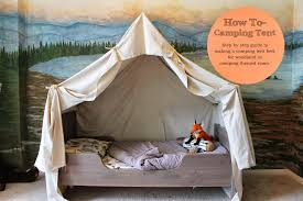 How To Make A Tent The Ragged Wren How To Camping Tent Bed