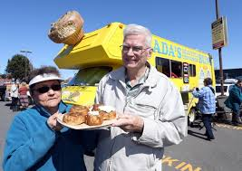 Senior opens a food truck to sell her popular cinnamon buns   Times Colonist