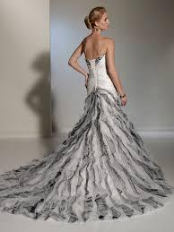 wedding dress beautiful silver wedding dresses silver wedding
