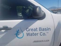 David Jacobs/Pahrump Valley Time A Great Basin Water Co. truck as seen in  Pahrump this past summer. The company's president, Wendy Barnett, said this  week that Great Basin had a main break