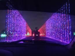 Christmas Lights At Hank Aaron Stadium In Mobile Alabama In