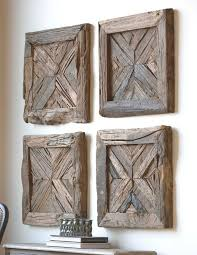 >uttermost rennick reclaimed wood wall art rancho mirage  uttermost rennick reclaimed wood wall art