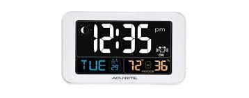 acuriteintelli time alarm clock with usb
