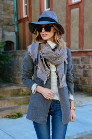 Gray Coat Hat Hat Hair Pinterest