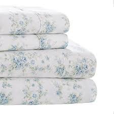Sheet Online Shabby Chic Bedding Collection Fleur Blue Sheet Sham Set Online Exclusive