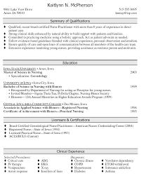 Family Nurse Practitioner Resume Fascinating Nurse Practitioner Resume Nurse Practitioner Resume Example On
