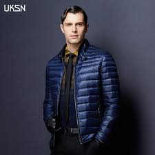 2016 Spring Duck Down Jacket Mens 90% Down Quilted Jacket Male ... & 2016 Spring Duck Down Jacket Mens 90% Down Quilted Jacket Male Ultra Light Down  Jacket Adamdwight.com