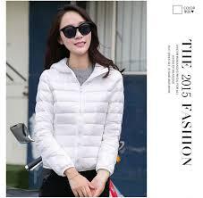 2016 winter women 90 white duck down jacket women s hooded ultra light down jackets warm