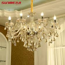 previous modern crystal chandelier