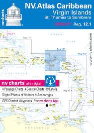 Chart Of Caribbean Islands Nv Chart Bundle Reg 12 1 Virgin Islands With Cruising