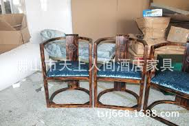 club house hotel restaurant hand painted furniture custom factory services