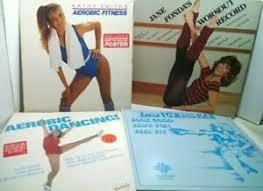 Details About Jane Fondas Workout Record Kathy Smiths Aerobic Fitness Dancersize Aerobic Lot
