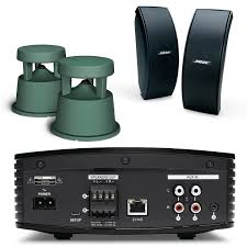 bose outdoor speakers. bose soundtouch sa-5 amplifier w/ free space 51 \u0026 151 se (black) outdoor speakers - bundle ,