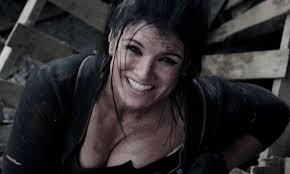 Gina Carano in Deadpool (2016) | Cute japanese girl, Deadpool 2016,  American actress