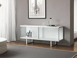 Low Glass Cabinet Nella Vetrina Tonelli Broadway Modern Designer Low Glass Cabinet