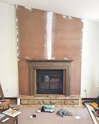 domicile 37 al approved faux fireplace facade