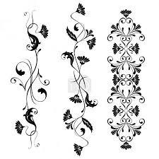 Vektorová Grafika Vektorové Prvky Designu Květiny A Květinové