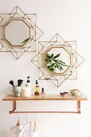 wayfair mercer 41 wall mirror for  205 vs tjmaxx triangle boarder metal mirror  50 copycatchic luxe
