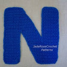 Crochet Letters Patterns Awesome Crochet Letter Patterns N Alphabet Appliques 48D Accent Pillows Etsy