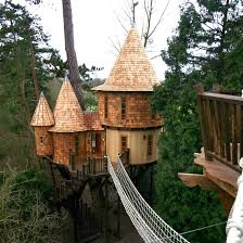 Living The Highlife Treehouse By Blue Forest In The UK Designboom Family Treehouse Holidays Uk