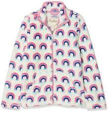 Hatley Baby Size Chart Details About Hatley Girls Fuzzy Fleece Full Zip Jackets