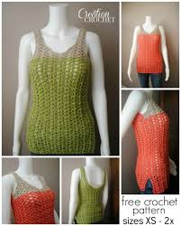 Crochet Tank Top Pattern Awesome Breezy Shell Tank Cre48tion Crochet