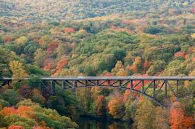 Image result for The Hudson River Valley at Fall Foliage Time