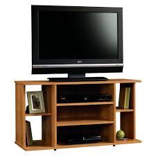 Sauder Kitchen Furniture Amazoncom Sauder Beginnings Tv Stand Highland Oak Kitchen Dining