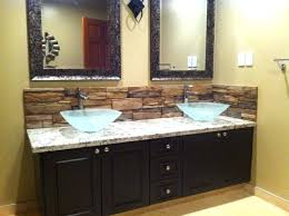 Backsplash Bathroom Ideas Extraordinary Bathroom Vanity Backsplash Ideas Medium Size Of Bathroom Bathroom