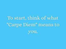 carpe diem by sandy wood a photo essay is an essay made up entirely up photos through a series of pictures 3 bare minimum tell the story of your experience seizing the day