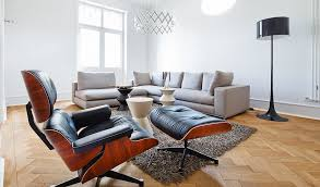comfortable chairs for living room. A Very Neutral Space Like This One Really Highlights The Warmth Of Wood Used For Comfortable Chairs Living Room I