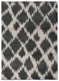 ikat diamond pattern area rug  woodwaves