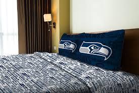 Nfl Bedroom Furniture Nfl Seattle Seahawks Sheet Set Walmartcom
