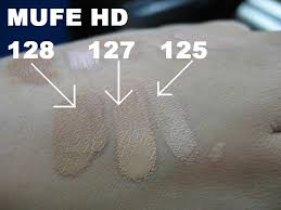 re woc make up for ever mufe discussion mufe hd foundation swatches