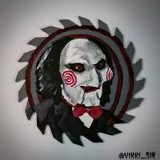 saw blade art. folk art meets horror: an interview with vikki sin (the queen of blades) saw blade i