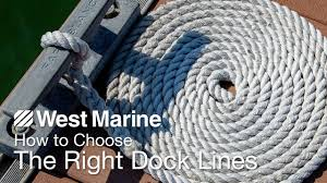 Dock Line Size Chart How To Choose The Right Dock Lines West Marine