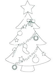 Christmas Family Tree Template