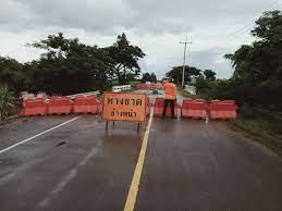 อัพเดท13เส้นทางถนนหลวงใน9จังหวัดถนนพังใช้งานไม่ได้จากปัญหา