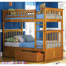 Classic Twin Over Twin Bunk Beds With Storage \u2014 Modern Storage ...