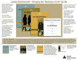 junior achievement of new jersey corporate volunteerism kit home