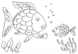 rainbow fish coloring page luxury rainbow fish picture to color of rainbow fish coloring page luxury
