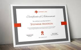 Corporate Certificate Template Delectable Elegant Bar Corporate Business Certificate Template For MS Etsy