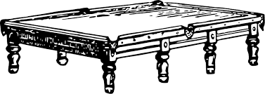 table clipart black and white. snooker table clipart black and white