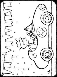 Jarig In Een Raceauto Kiddicolour