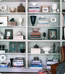 how to style bookshelf - i have a huge built in bookshelf that definitely  needs some