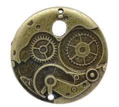steampunk jewelry supplies pocket watch