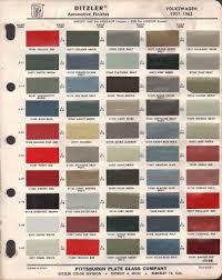Dupont Color Chart For Cars Paint Chips 1962 Volkswagen Beetle Volkswagen Vw Beetles