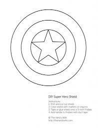 Captain America Coloring Pages Shield Coloringstar For Captain