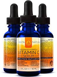 Pure vitamin c oil for skin